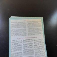 Libros de segunda mano: EL PUEBLO VIVIA EN LA ESPERANZA DEL REINO DE DIOS. Lote 264854804