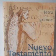 Libros de segunda mano: NUEVO TESTAMENTO (LETRA GRANDE). Lote 266206008