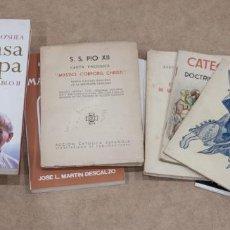 Libros de segunda mano: LOTE DE LIBROS DE TEMATICA RELIGIOSA.. Lote 266507423