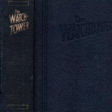Libros de segunda mano: LA ATALAYA ANUNCIANDO EL REINO DE JEHOVÁ - AÑO COMPLETO 1977, 24 NÚMEROS. Lote 266568548