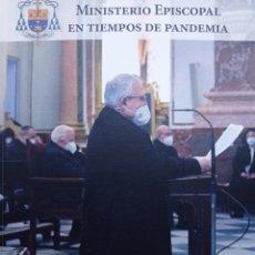 Libros de segunda mano: MINISTERIO EPISCOPAL EN TIEMPOS DE PANDEMIA. Lote 267458754