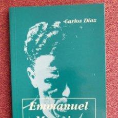 Libros de segunda mano: EMMANUEL MOUNIER ** CARLOS DÍAZ. Lote 267577044