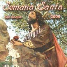 Livres d'occasion: SEMANA SANTA SAN ROQUE 2009. A-SESANTA-2290. Lote 267813214