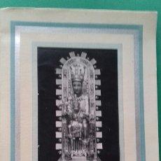Libros de segunda mano: D. JERONIMO MERCAPIDE: CRONICA DE LA CORONACION DE LA IMAGEN DE LA VIRGEN DE UJUE, 8-9-1952.. Lote 268869719