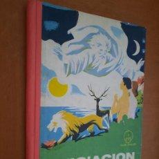 Libros de segunda mano: INICIACIÓN A LA BIBLIA. CASTELLANO-GUARANI. CLUB BÍBLICO. TAPA DURA. CON TARAS PERO COMPLETO. Lote 268875919