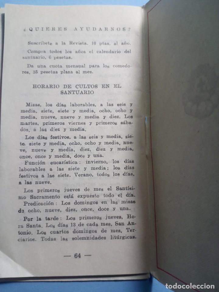 Libros de segunda mano: SAN ANTONIO DE PADUA novena, devociones y estampita - Foto 6 - 268894669