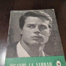 """Libros de segunda mano: PUBLICACIÓN RELIGIOSA """"DIGANOS LA VERDAD"""". Lote 269178973"""