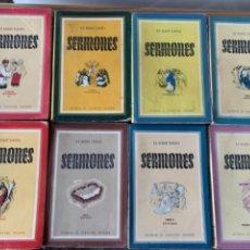 Libros de segunda mano: SERMONES DE R.P. RAMÓN SARABIA (BOLS, 7). Lote 269187834