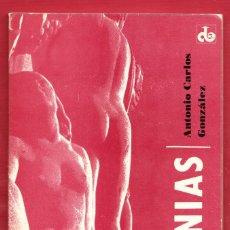 Libros de segunda mano: LETANIAS.ANTONIO CARLOS GONZÁLEZ .94.PÁGINAS.AÑO 1978. LE3987. Lote 269190178