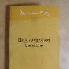 Libros de segunda mano: DIOS ES AMOR/DEUS CARITAS EST - BENEDICTO XVI - ED. SAN PABLO - 2006. Lote 269376068