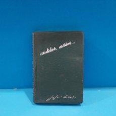 Libros de segunda mano: SAN JUAN DE LA CRUZ...CAUTELAS, AVISOS, CARTAS Y DICTAMENES....1965..... Lote 269380403