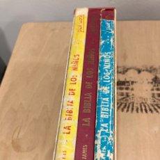 Libros de segunda mano: LOTE DE 3 LIBROS LA BIBLIA DE LOS NIÑOS. Lote 269826428