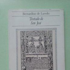 Libros de segunda mano: TRATADO DE SAN JOSÉ. BERNARDINO DE LAREDO. Lote 270889138