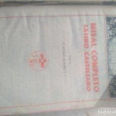 Livros em segunda mão: MISAL COMPLETO- MOLINA. Lote 272218948