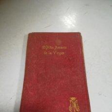 Libri di seconda mano: EL NIÑO AMANTE DE LA VIRGEN. DEVOCIONARIO PARA NIÑOS. MANUEL LASALETA. ED SATURNINO CALLEJA.. Lote 273907698