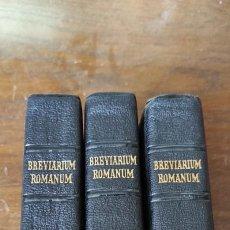 Livros em segunda mão: BREVIARIUM ROMANUM - AUTUMNALIS - AESTIVA - HIEMALIS. Lote 275597598