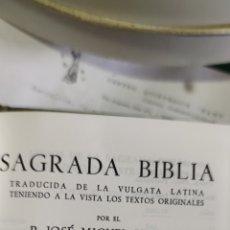 Livros em segunda mão: SAGRADA BIBLIA ANTIGUO TESTAMENTO ( AUGUSTA). Lote 277135503