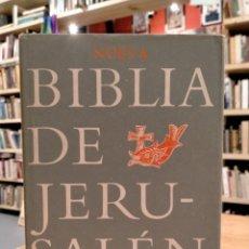 Livros em segunda mão: BROUWER, NUEVA BIBLIA DE JERUSALÉN REVISADA Y AUMENTADA. Lote 277181738