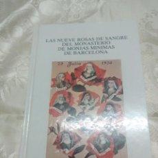 Libri di seconda mano: LAS NUEVE ROSAS DE SANGRE... (MÍNIMAS BARCELONA) SOSPEDRA. 1989.. Lote 277458563