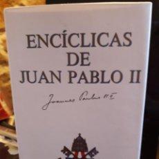 Libros de segunda mano: ENCICLICAS DE JUAN PABLO II. Lote 277517233