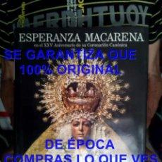 Livres d'occasion: ESPERANZA MACARENA XXV ANIVERSARIO CORONACION CANONICA 4 KILOS LIBRO U53. Lote 277722948