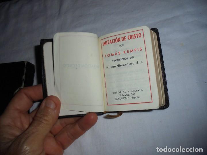 Libros de segunda mano: TOMAS KEMPIS.IMITACION DE CRISTO.EDITORIAL VILAMALA BARCELONA 1950.-8,5 X 6 - Foto 11 - 277832523