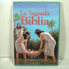 Libros de segunda mano: LA SAGRADA BIBLIA - EDITORIAL MOLINO 1980- SOBRECUBIERTA ¡¡MUY BUEN ESTADO ¡¡ GRAFICOS A COLOR. Lote 278176783