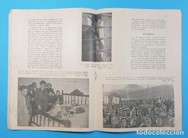 Libros de segunda mano: CAMINOS DE VIDA Y MUERTE DE JOSEFINA VILASECA,VUELTA A CATALUÑA DE UN LOCUTOR,SOLER SERRANO 16 PAG - Foto 3 - 278191253