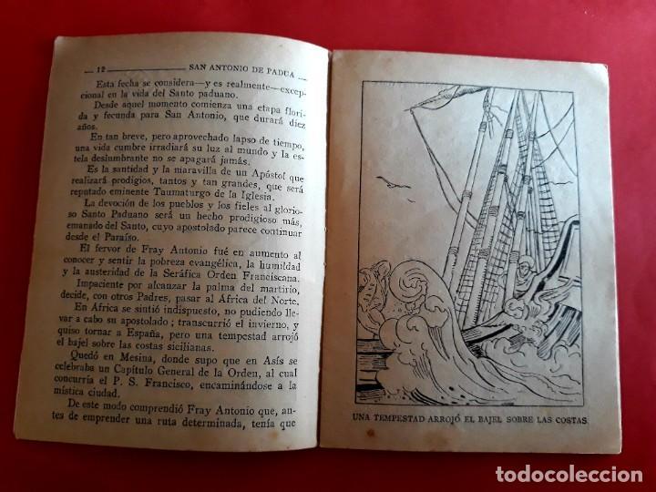 Libros de segunda mano: San Antonio de Padua 13 Junio Colección Nuestros Santos - Foto 2 - 278500358
