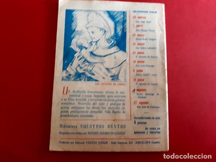 Libros de segunda mano: San Antonio de Padua 13 Junio Colección Nuestros Santos - Foto 3 - 278500358