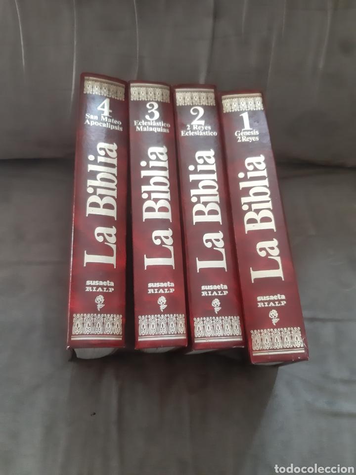 Libros de segunda mano: Libro 4 Tomo La Biblia, Mensaje Vivo (1° Edición 1980) -Susaeta Rialp- - Foto 3 - 280916828