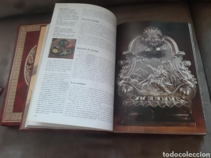 Libros de segunda mano: Libro 4 Tomo La Biblia, Mensaje Vivo (1° Edición 1980) -Susaeta Rialp- - Foto 7 - 280916828