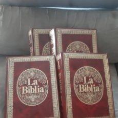 Libros de segunda mano: LIBRO 4 TOMO LA BIBLIA, MENSAJE VIVO (1° EDICIÓN 1980) -SUSAETA RIALP-. Lote 280916828