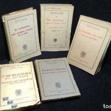 Libros de segunda mano: LOTE 5 LIBROS ANTIGUOS OBRAS SELECTAS DE D. ANDRES MANJON - AÑOS 1940S Y 1950S. Lote 280924208