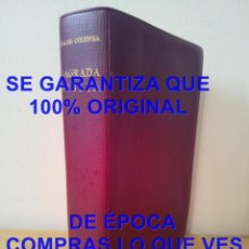 Livres d'occasion: BIBLIA BAC NACAR COLUNGA 1960 U58. Lote 282057603