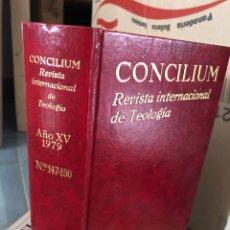 Livres d'occasion: 1979 REVISTA INTERNACIONAL DE TEOLOGÍA CONCILIUM EDICIONES CRISTIANAS DE MADRID. Lote 285530788