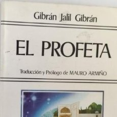 Livres d'occasion: EL PROFETA. GIBRÁN JALIL GIBRÁN.. Lote 286627703