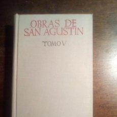 Livros em segunda mão: SAN AGUSTÍN. OBRAS. TOMO V. TRATADO SOBRE LA SANTÍSIMA TRINIDAD. TEXTO BILINGÜE. INTRODUCCIÓN Y NOTA. Lote 287678068