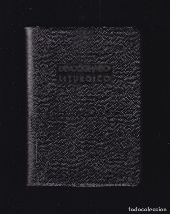 DEVOCIONARIO LITURGICO - ORACIONES Y CANTICOS - ALCOY 1941 (Libros de Segunda Mano - Religión)