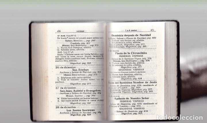 Libros de segunda mano: DEVOCIONARIO LITURGICO - ORACIONES Y CANTICOS - ALCOY 1941 - Foto 4 - 288001093