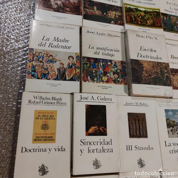 Libros de segunda mano: Lote de 33 libros. Teología, Cristianismo, Religión, pensamiento, escritos doctrinales,etc.Siglo XX. - Foto 3 - 288001383