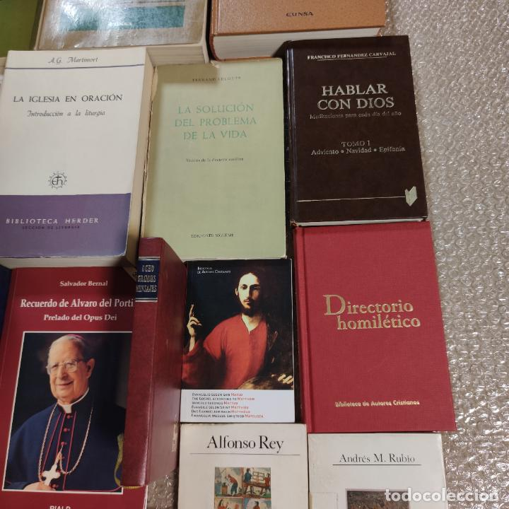 Libros de segunda mano: Lote de 20 libros. Teología, Cristianismo, Religión, pensamiento, escritos doctrinales,etc.Siglo XX. - Foto 5 - 288002448