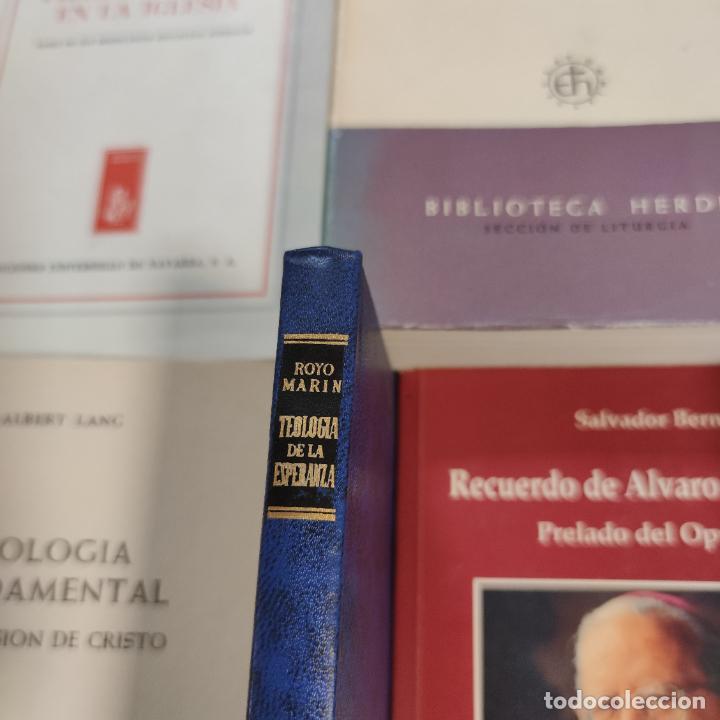Libros de segunda mano: Lote de 20 libros. Teología, Cristianismo, Religión, pensamiento, escritos doctrinales,etc.Siglo XX. - Foto 8 - 288002448