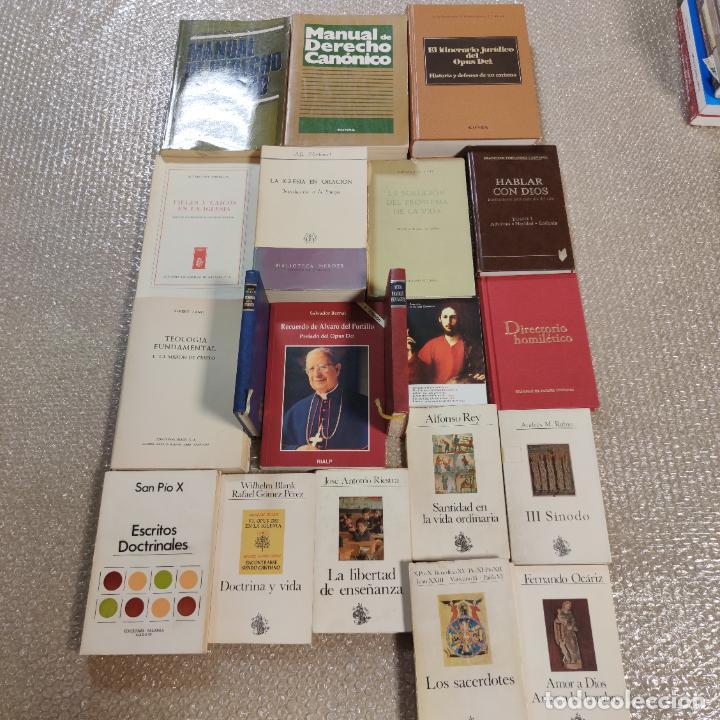 LOTE DE 20 LIBROS. TEOLOGÍA, CRISTIANISMO, RELIGIÓN, PENSAMIENTO, ESCRITOS DOCTRINALES,ETC.SIGLO XX. (Libros de Segunda Mano - Religión)
