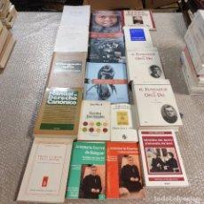 Libros de segunda mano: LOTE DE 17 LIBROS Y REVISTAS. RELIGIÓN, TEOLOGÍA, OPUS DEI. MON SEÑOR ESCRIVÁ DE BALAGUER. ETC.. Lote 288004873