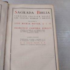 Libros de segunda mano: 50066 - SAGRADA BIBLIA, VERSION CRITICA SOBRE LOS TEXTOS HEBREO Y GRIEGO - AÑO 1957. Lote 288599868