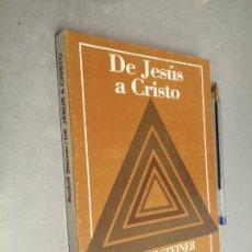 Libros de segunda mano: DE JESÚS A CRISTO / RUDOLF STEINER / EDITORIAL KIER 1984 ARGENTINA. Lote 288957923