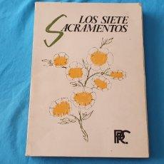 Libros de segunda mano: LOS SIETE SACRAMENTOS - IMÁGENES DE LA FÉ - ÁLBUM 7 - MADRID 1974. Lote 289238368
