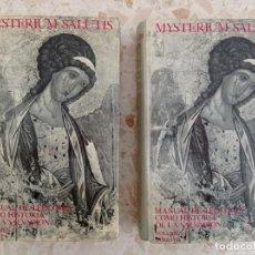 Libros de segunda mano: COLECCIÓN MYSTERIUM SALUTIS - MANUAL DE TEOLOGÍA COMO HISTORIA DE LA SALVACIÓN. Lote 289900653