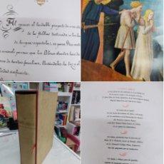 Libros de segunda mano: LA SANTA BIBLIA VERSIÓN DIRECTA DEL HEBREO POR CANTERA PABÓN ED. DE LUJO EN ESTUCHE ILUSTRADA. Lote 294147843